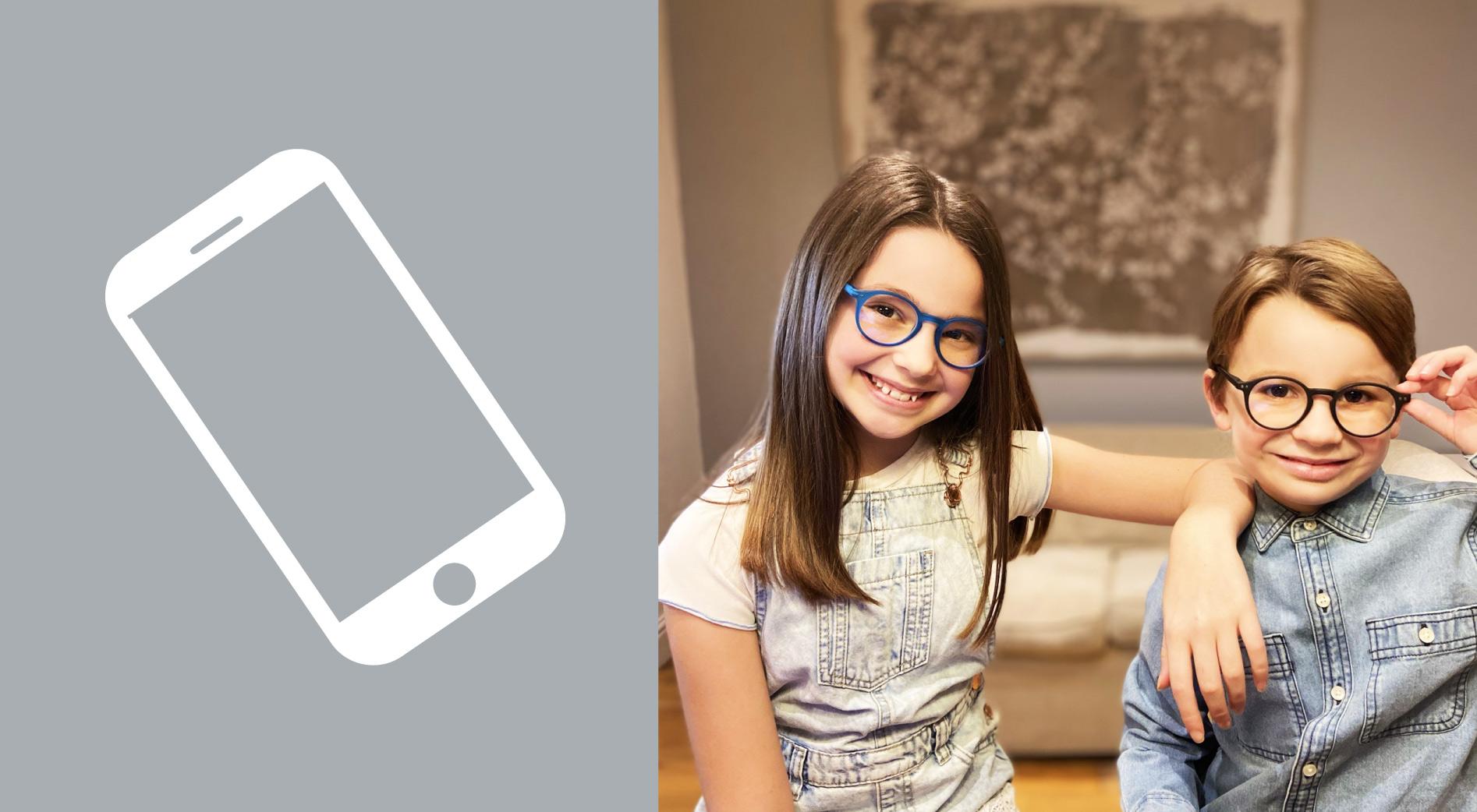 Blue Light Kids Non-Prescription Glasses