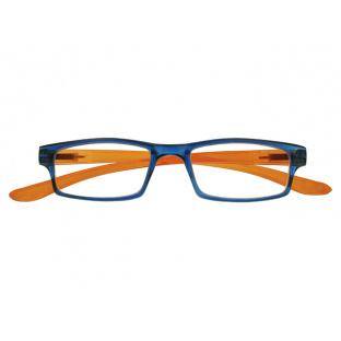 Reading Glasses 'Neck Specs' Blue/Orange