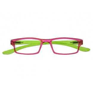 Reading Glasses 'Neck Specs' Fuscia/Green