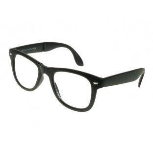 Folding Reading Glasses 'Pocket Specs' Matt Black