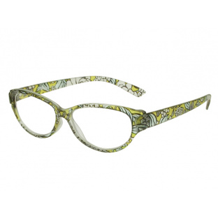 Reading Glasses 'Lulu' Yellow Floral