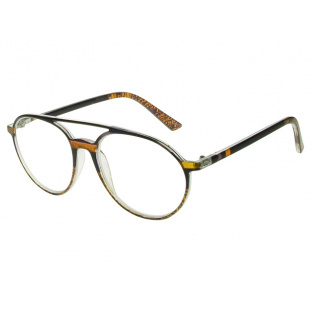 Reading Glasses 'Boston' Black/Brown