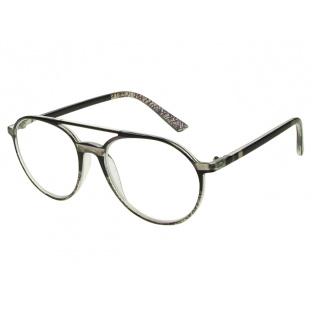 Reading Glasses 'Boston' Black/Grey