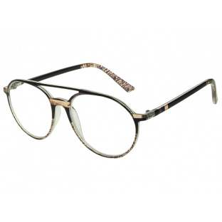 Reading Glasses 'Boston' Black/Salmon