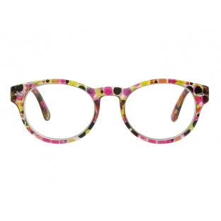 Reading Glasses 'Zest' Red/Black Multi