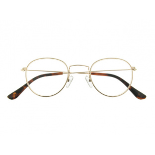 Reading Glasses 'Bakerloo' Gold