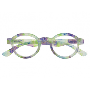 Reading Glasses 'Botanica' Blue Floral