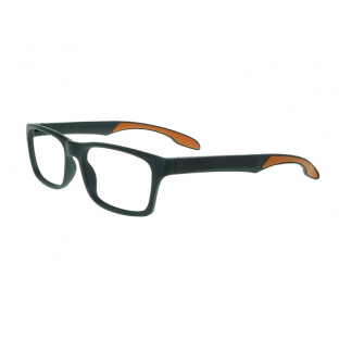 Reading Glasses 'Joshua' Black/Orange