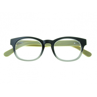 Natural Bamboo Readers 'Picadilly' Black/Grey