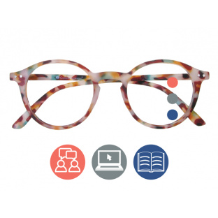 Progressive Reading Glasses 'Sydney Multi-Focus' Multi Tortoiseshell