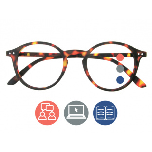 Progressive Reading Glasses 'Sydney Multi-Focus' Tortoiseshell