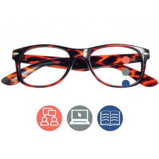 Progressive Reading Glasses 'Billi Multi-Focus' Tortoiseshell