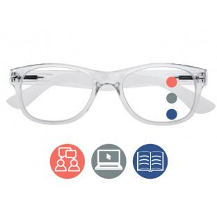 Progressive Reading Glasses 'Billi Multi-Focus' Transparent
