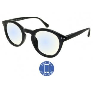 Blue Light Non-Prescription Glasses 'Embankment' Black