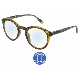 Blue Light Non-Prescription Glasses 'Embankment' Tortoiseshell