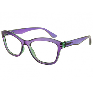 Reading Glasses 'Margot' Purple And Teal