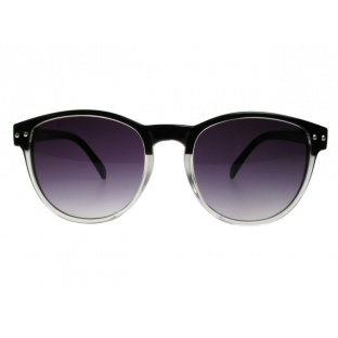 Sunglasses 'Newhaven' Black/Clear