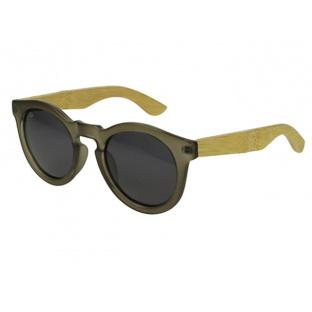 Sunglasses Polarised 'Kennedy' Matt Grey/Bamboo