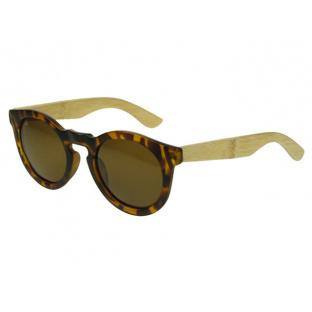 Sunglasses Polarised 'Kennedy' Tortoiseshell/Bamboo