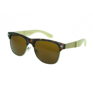 Sunglasses Polarised 'Morgan' Tortoiseshell/Bamboo
