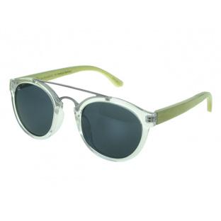 Sunglasses Polarised 'Tokyo' Transparent/Bamboo