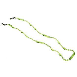 Glasses Chain 'Translucent Bead' Green