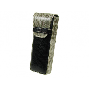 Glasses Case 'Gents Two-Tone' Black/Grey