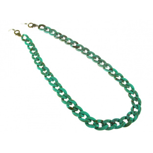 Glasses Chain 'Flat Chunky' Turquoise