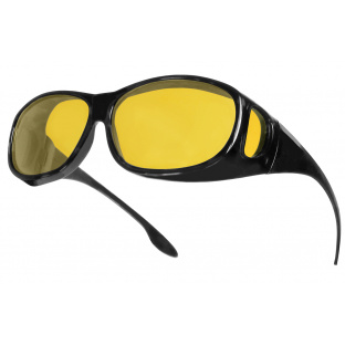 Sunglasses 'Night-Vision Coverspecs' Black