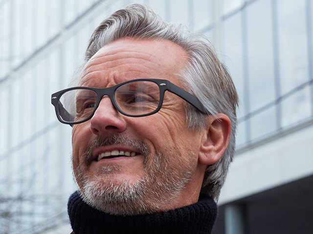 Reading Glasses 'Billi' Matt Grey