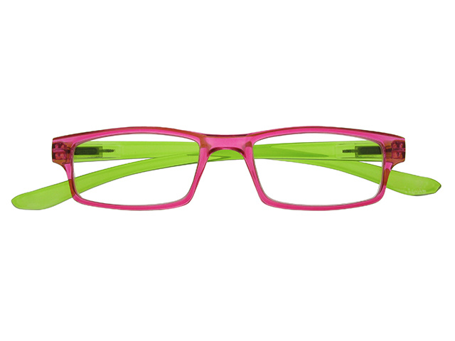 Neck Specs Fuscia/Green Front