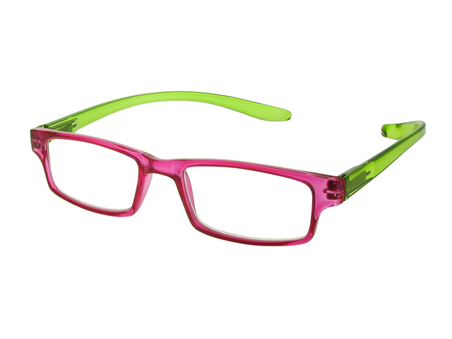 Neck Specs Fuscia/Green Side