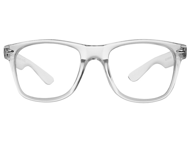 Reading Glasses 'Billi Big' Transparent