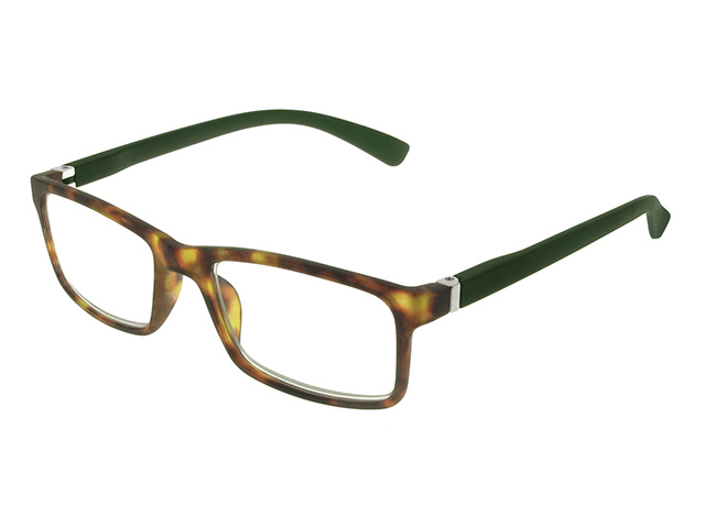 Parker Tortoiseshell/Dark Green Side