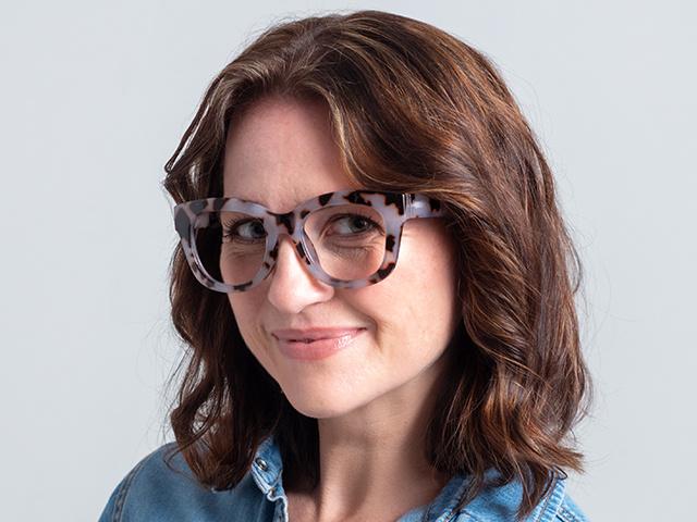 Reading Glasses 'Encore' White Tortoiseshell
