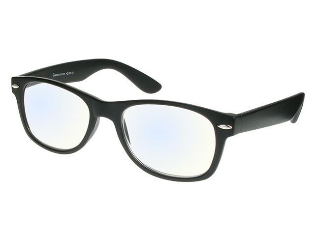Blue Light Non-Prescription Glasses 'Billi' Matt Black