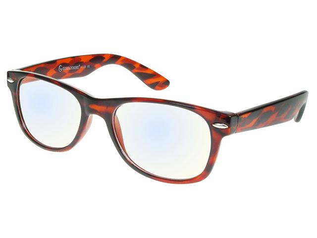 Blue Light Non-Prescription Glasses 'Billi' Tortoiseshell