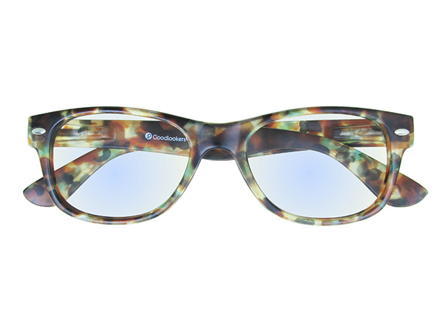 Blue Light Non-Prescription Glasses 'Billi' Multi Tortoiseshell
