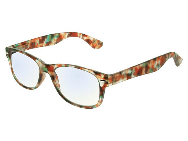 Blue Light Non-Prescription Glasses 'Billi' Multi Tortoiseshell