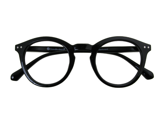 Reading Glasses 'Embankment' Shiny Black