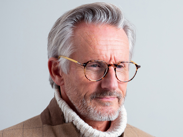 Reading Glasses 'Portland' Tortoiseshell/Yellow
