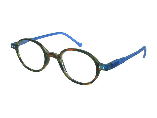 Campbell Tortoiseshell/Blue Side