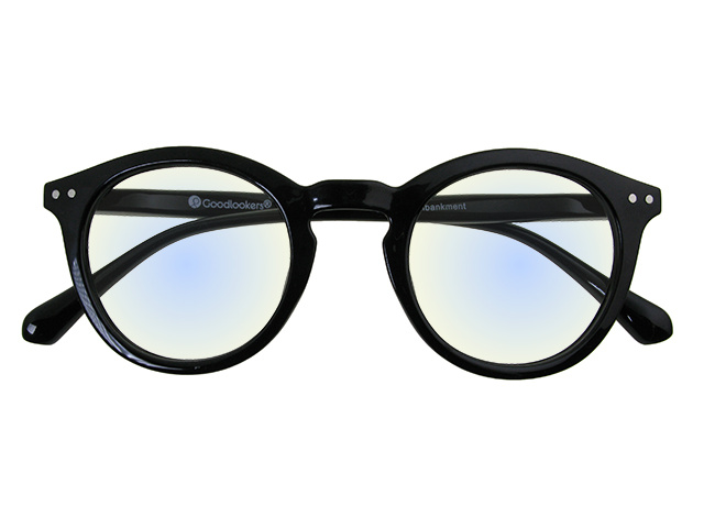 Blue Light Reading Glasses 'Embankment' Black