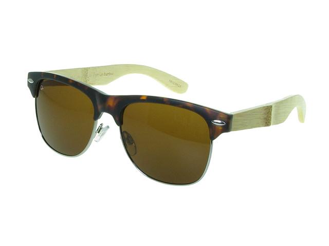 Sunglasses Polarised 'Morgan' Tortoiseshell/Bamboo