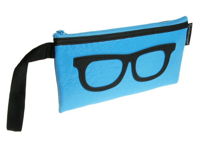 Geeky Retro Blue