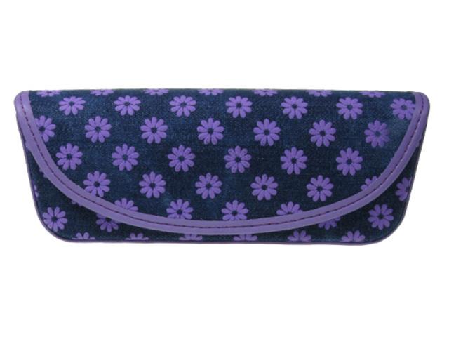 Daisy Denim Purple Front