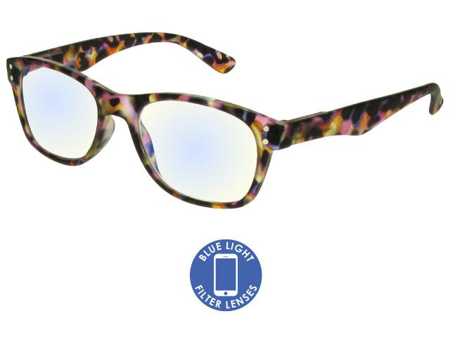 Blue Light Non-Prescription Glasses 'ScreenSpecs' Multi Tortoiseshell