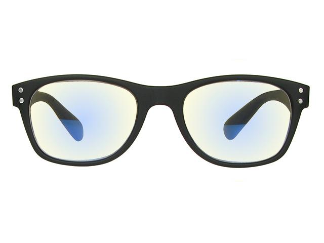 Blue Light Filter 'ScreenSpecs' Black Non-Prescription