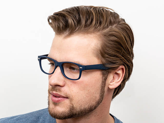 Reading Glasses 'Billi' Matt Blue