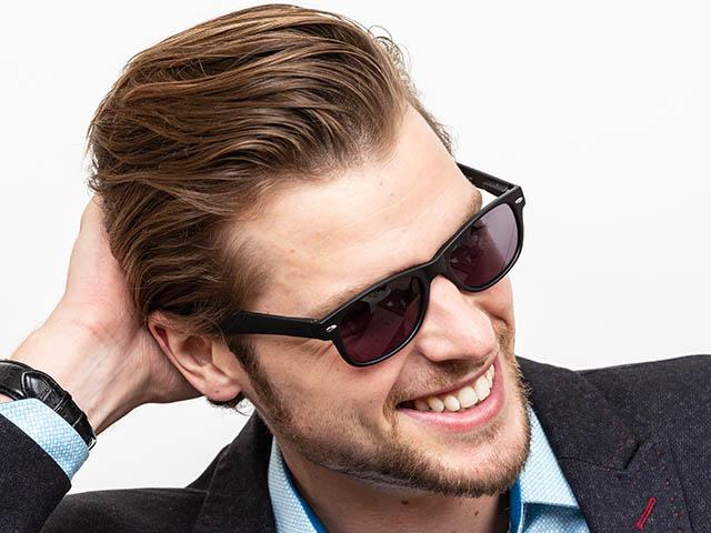 Reading Sunglasses 'Dakota' Matt Black